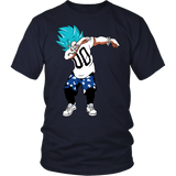 Super Saiyan Goku God Dab Men Short Sleeve T Shirt - TL00467SS