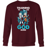 Super Saiyan - Training to go God Mode Sweatshirt T shirt - TL00011SW