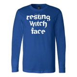Halloween - resting witch face - Men Long Sleeve T Shirt - TL00755LS