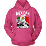 Super Saiyan Mexican Grown Saiyan Roots Unisex Hoodie T shirt - FOR MEXICAN FANS - TL00156HO
