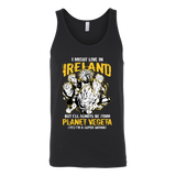 Super Saiyan I May Live In Ireland Unisex Tank Top T Shirt - TL00115TT