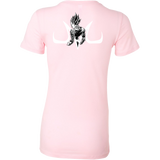 Super Saiyan Majin Vegeta Woman Short Sleeve T Shirt -TL00214WS