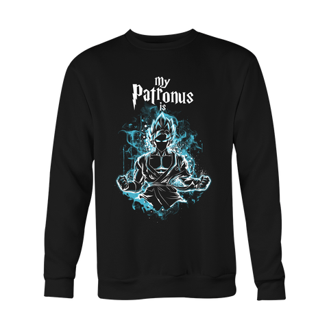 Super Saiyan - My Patronus is Goku God Blue - Holiday Special Sweatshirt - TL00898SW