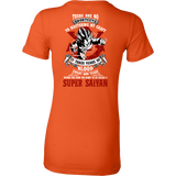 Super Saiyan Vegeta train to get title Woman Short Sleeve T shirt - TL00052WS