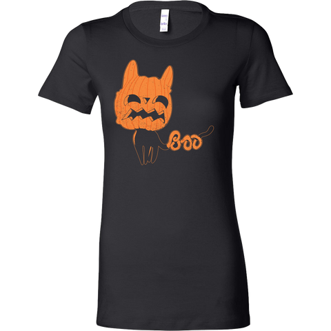 Halloween - Boo - Women Short Sleeve T Shirt - TL00733WS