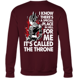 Super Saiyan Majin Vegeta Throne Sweatshirt T shirt - TL00213SW
