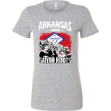 Super Saiyan Arkansas Grown Saiyan Roots Woman Short Sleeve T Shirt - TL00167WS