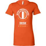 Limited Edition Irish Woman Short Sleeve T Shirt - TL00645WS