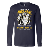 Super Saiyan Arkansas Long Sleeve T shirt - TL00096LS