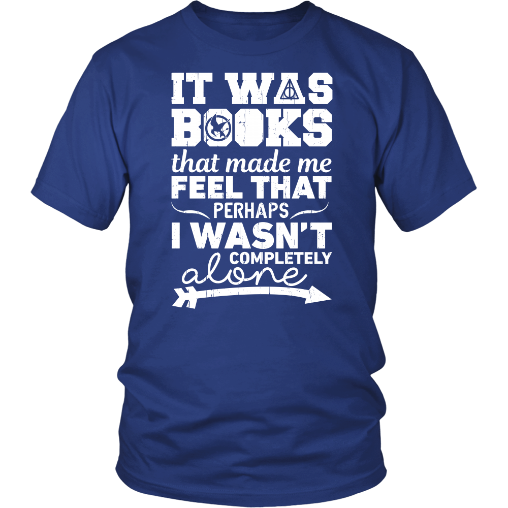 Harry Potter - it was books that made me feel that - men short sleeve t shirt - TL00971SS