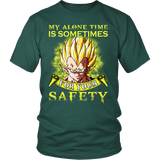 Super Saiyan - My anlone time is sometimes for your safety - Men Short Sleeve T Shirt - TL01304SS