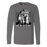 Super Saiyan Villians Long Sleeve T shirt - TL00055LS