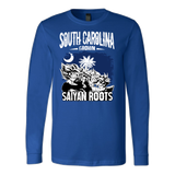 Super Saiyan South Carolina Grown Saiyan Roots Long Sleeve T shirt - TL00154LS