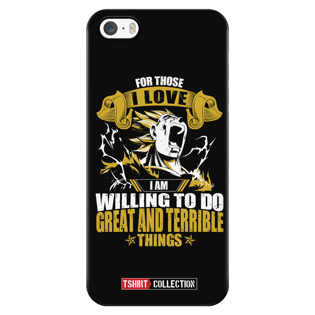 Super Saiyan Majin Vegeta can do great and terrible things Iphone Case - TL00555PC