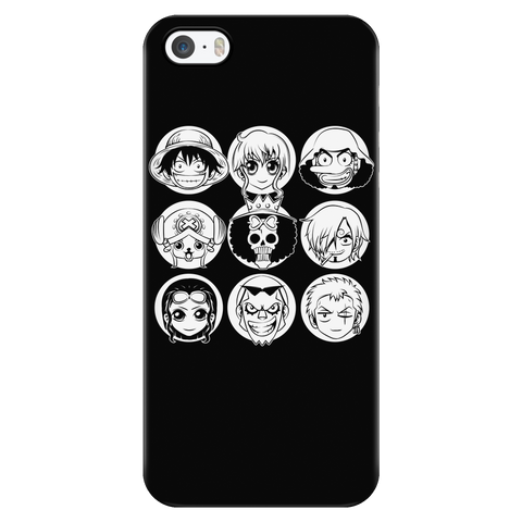 One Piece - Luffy and friends - Iphone Phone Case - TL00915PC