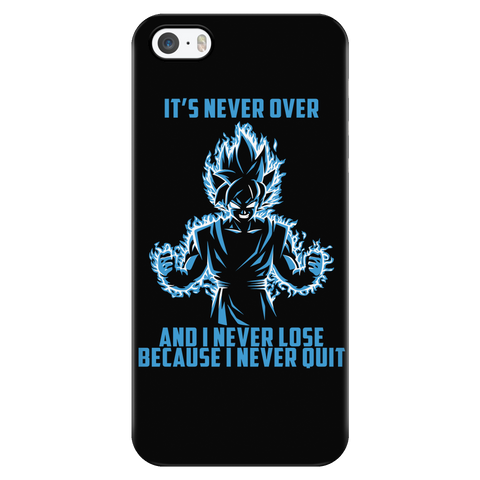 Super Saiyan - Goku never lose - Iphone Phone Case - TL01055PC