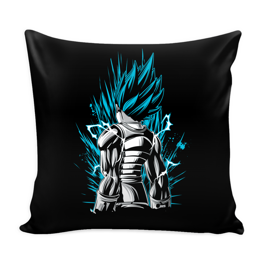 "Super Saiyan God Blue Vegeta Pillow Cover 16"" - TL00021PL"