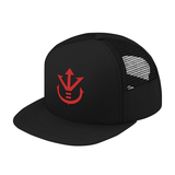 Super Saiyan Red Vegeta Crest Trucker Hat - PF00188TH - The Tshirt Collection - 8