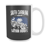 Super Saiyan South Carolina Grown Saiyan Roots 15oz Coffee Mug - TL00154M5