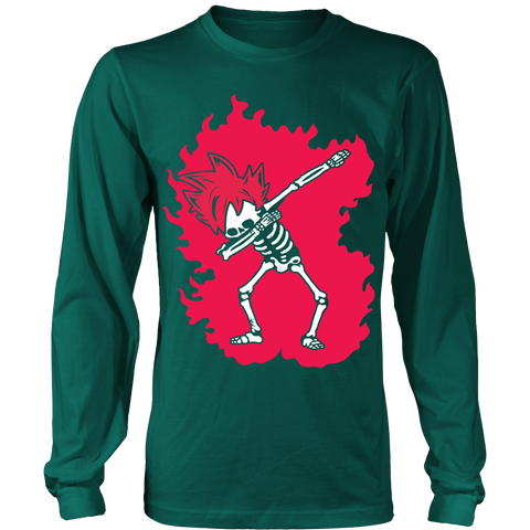 Super Saiyan - Goku God Dab Skeleton X Ray Costume - Long Sleeve Shirt - TL01424LS