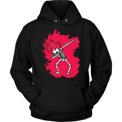 Super Saiyan - Goku God Dab Skeleton X Ray Costume - Unisex Hoodie - TL01424HO