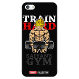 Super Saiyan Goku Gym Train Hard iPhone 5, 5s, 6, 6s, 6 plus, 6s plus phone case - TL00441PC-BLACK