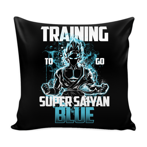 Super Saiyan - Goku Training to go Super Saiyan Blue - Pillow Cover - TL00889PL