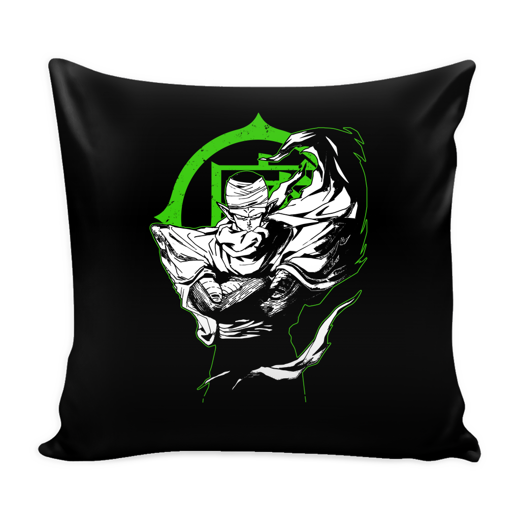"Saiyan Namek Piccolo Pillow Cover 16"" - TL00009PL"