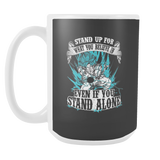 Super Saiyan Goku God Blue 15oz Coffee Mug - TL00204M5