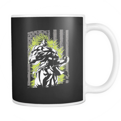 American Super Saiyan Broly 11oz Coffee Mug - TL00001M1 - The TShirt Collection