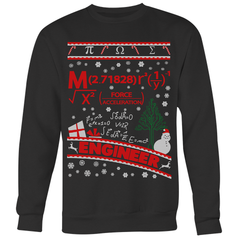Christmas Sweatshirt- Engineering -Unisex Sweatshirt - TL01510SW