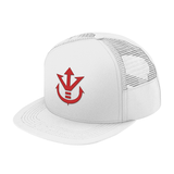 Super Saiyan Red Vegeta Crest Trucker Hat - PF00188TH - The Tshirt Collection - 9