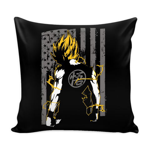 "American Super Saiyan Goku Pillow Cover 16"" - TL00046PL - The TShirt Collection"