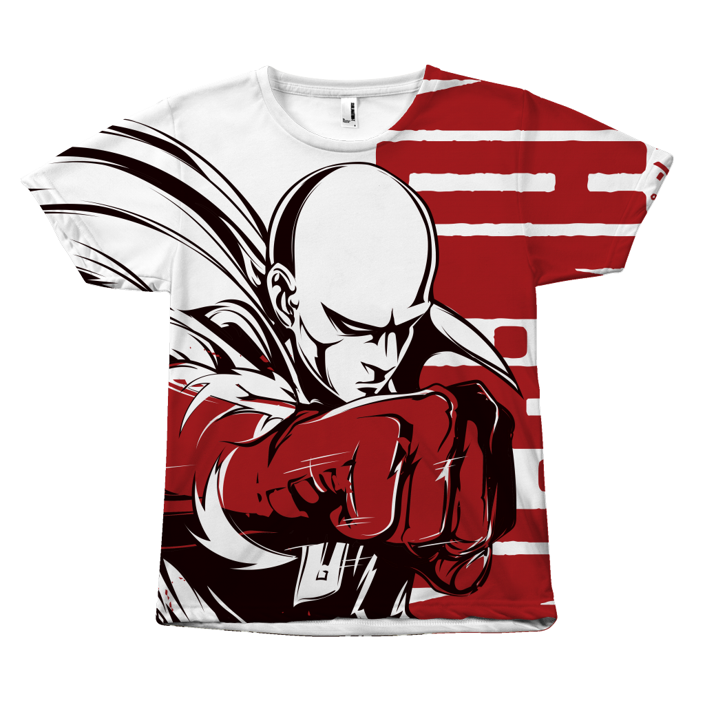 One Punch Man - Saitama - All Over Print T Shirt - TL00923AO