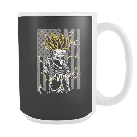 American Super Saiyan Gohan 15oz Coffee Mug - TL00003M5 - The TShirt Collection