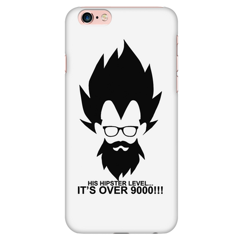 Super saiyan - His hipster lever is over 9000 - Iphone Phone Case - TL01342PC