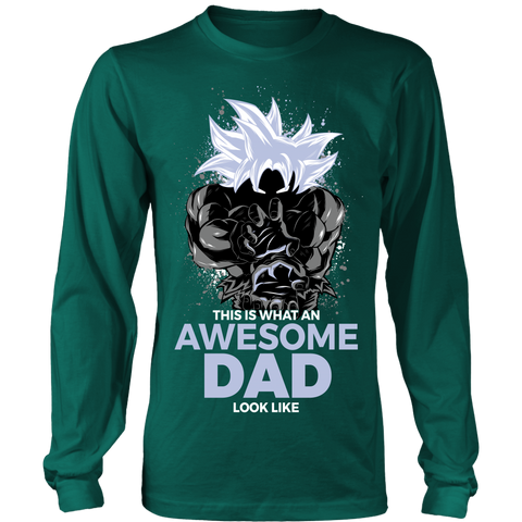 Super Saiyan Cool Dad Master Ultra Instinct Art Shirt - TL01630LS
