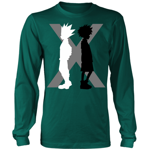 Hunter x Hunter - killua and gon - Unisex Long Sleeve T Shirt - TL01491LS