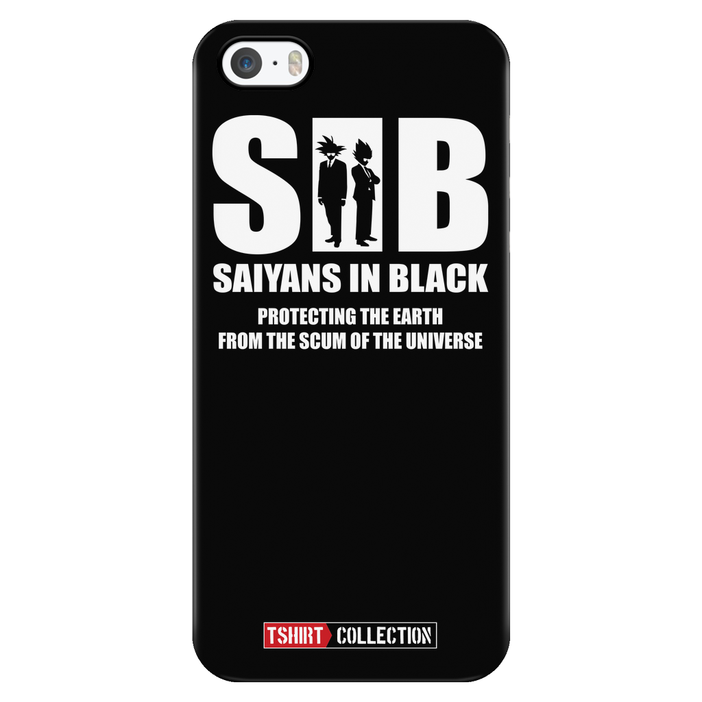 Super Saiyan in Black iPhone 5, 5s, 6, 6s, 6 plus, 6s plus phone case - TL00030PC-BLACK