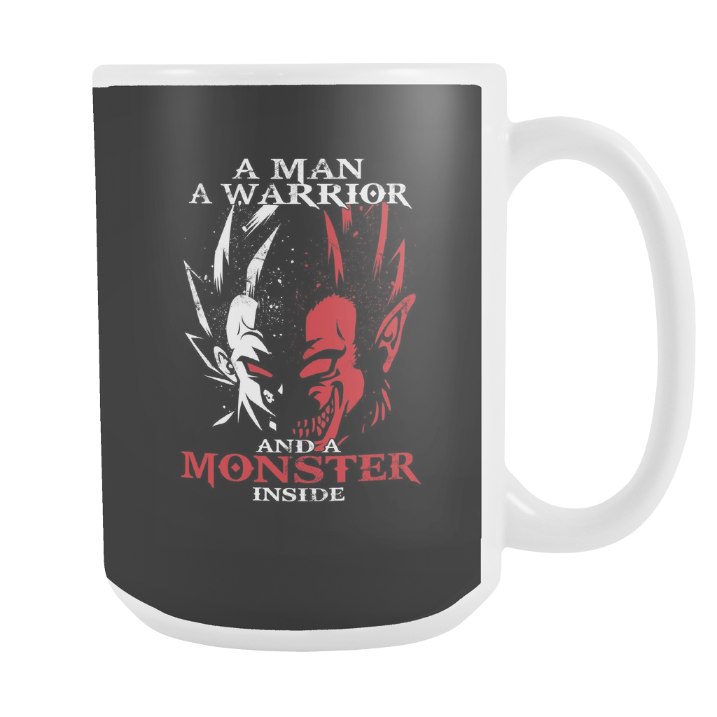 Super Saiyan Vegeta Monster Inside 15oz Coffee Mug - TL00282M5