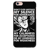 Super Saiyan Majin Vegeta Power iPhone 5, 5s, 6, 6s, 6 plus, 6s plus phone case - TL00203PC-BLACK