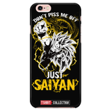 Super Saiyan Goku Just Saiyan iPhone 5, 5s, 6, 6s, 6 plus, 6s plus phone case - TL00036PC-BLACK