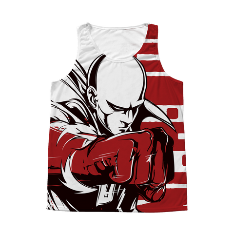 One Punch Man - Saitama - 1 Sided 3D tank top t shirt Tank - TL00923AT