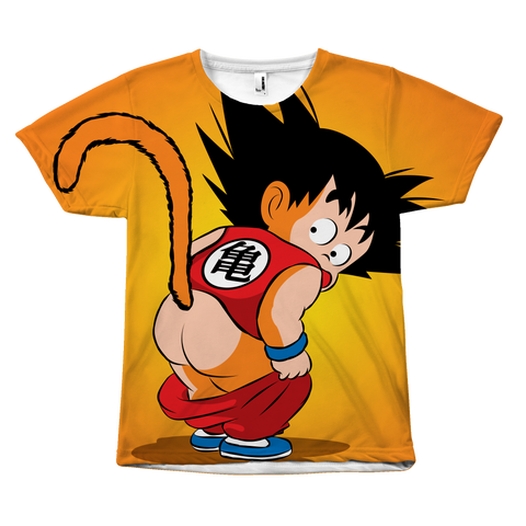 Super Saiyan - Goku Kid - All Over Print T Shirt - TL00982AO