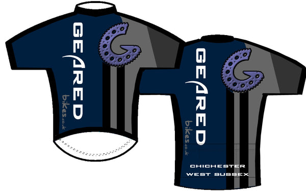 Geared Custom MTB S/S Jersey