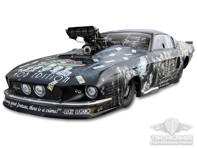 Pro Mod '67 Mustang build