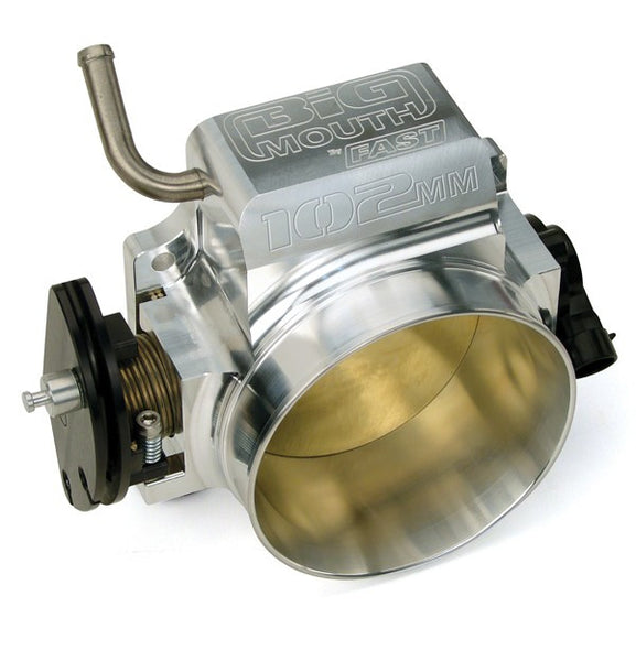 GM LS BIG MOUTH 102MM BILLET THROTTLE BODY W/ TPS & IAC