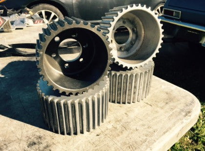 BLOWER PULLEYS