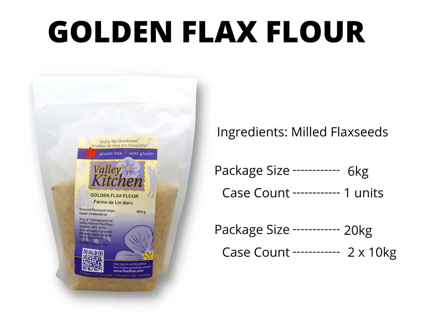 Milled Golden Flax Food Service