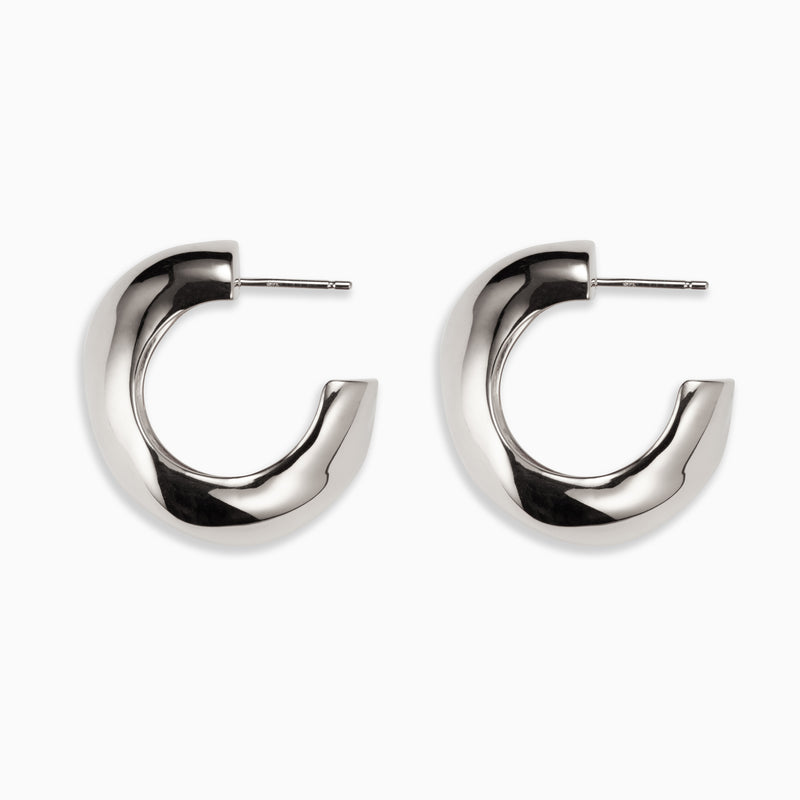 Medium Celia Hoops